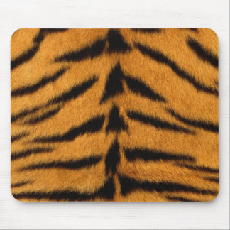 Pele listrada do tigre mouse pad