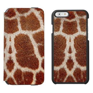 Pele original do girafa