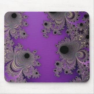 Peles fantásticas do Fractal da fantasia roxa Mouse Pads