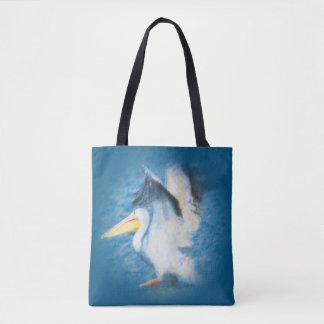 pelicano 17 da aguarela por todo o lado no bolsa