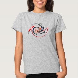 Pelicano da arte abstracta t-shirt