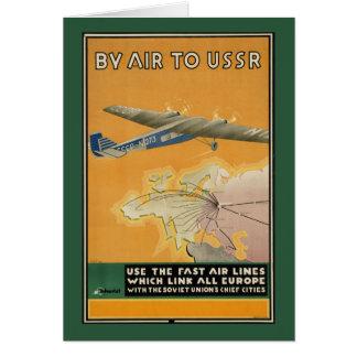 Pelo ar à URSS