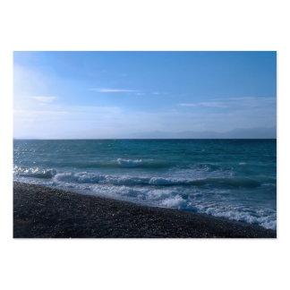 Pelo cartão de visita do mar