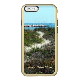 Pelo vertical do mar personalizado capa incipio feather® shine para iPhone 6