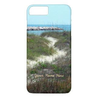 Pelo vertical do mar personalizado capa iPhone 7 plus