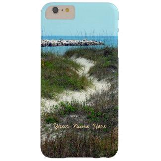 Pelo vertical do mar personalizado capas iPhone 6 plus barely there
