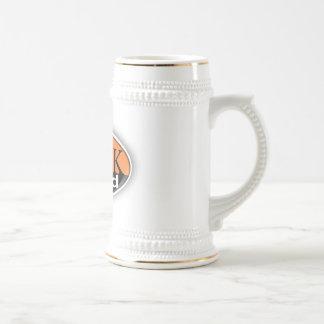 pelotão grego caneca de cerveja