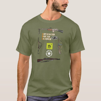 Pelotão transportado por via aérea do ASL com Camiseta