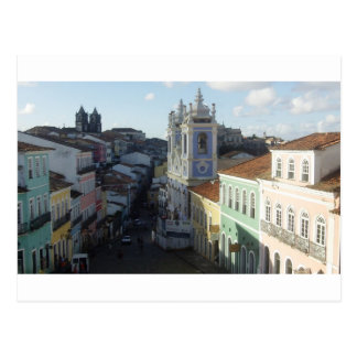 Pelourinho, Salvador, Baía, Brasil Cartão Postal