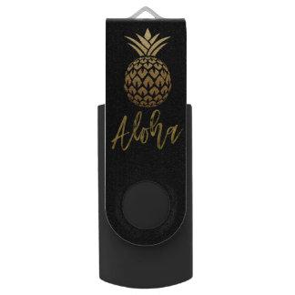 Pen Drive Aloha movimentação tropical de USB da folha de