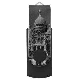 Pen Drive Basílica de France Paris Sacre Coeur do vintage