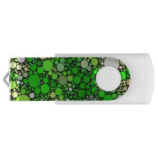 Pen Drive Bolhas de Zazzy, verdes