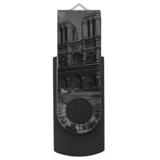 Pen Drive Catedral de France Paris Notre Dame do vintage