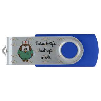 Pen Drive coruja da enfermeira - USB flashdrive