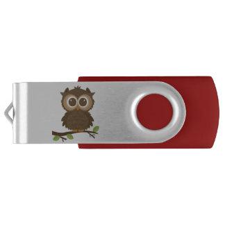 Pen Drive Coruja USB de Hootin