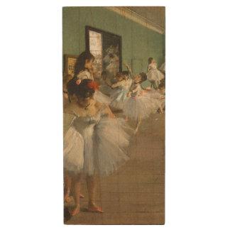 Pen Drive De Madeira Edgar Desgaseifica- a classe de dança 1874