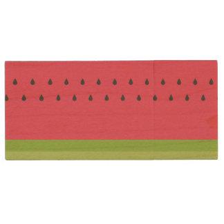 Pen Drive De Madeira Movimentação de madeira de USB da fatia da