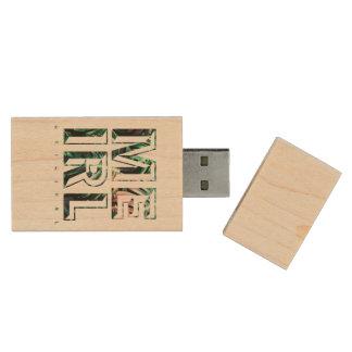 Pen Drive De Madeira Movimentação original de MEIRL USB