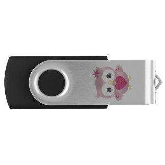 Pen Drive Design gráfico cor-de-rosa USB Flashdrive da