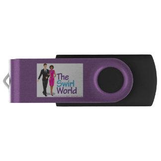 Pen Drive Giratório A movimentação do flash de USB do mundo do