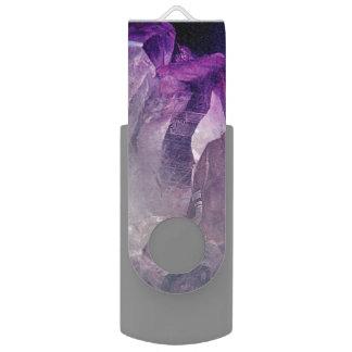 Pen Drive Giratório Abstrato de cristal do núcleo