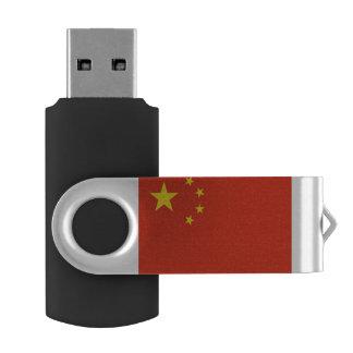 Pen Drive Giratório Bandeira de China