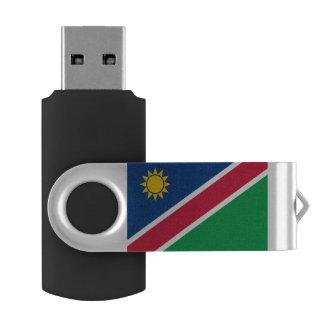 Pen Drive Giratório Bandeira de Namíbia