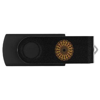 Pen Drive Giratório cilindro de tabaco de USB Mandala