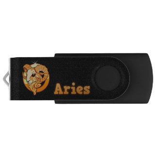 Pen Drive Giratório Ilustração do Aries