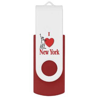 Pen Drive Giratório Mim amante NY