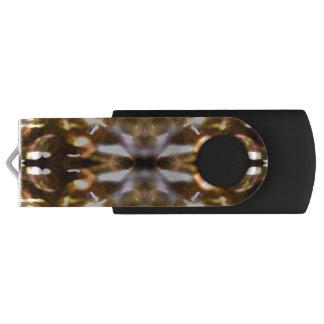 Pen Drive Giratório Movimentação brilhante do flash de USB das luzes