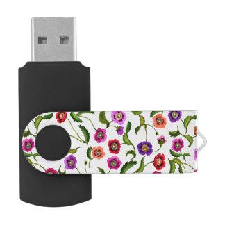 Pen Drive Giratório Movimentação colorida do flash de USB 32GB das