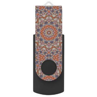 Pen Drive Giratório Movimentação colorida do flash de USB   das