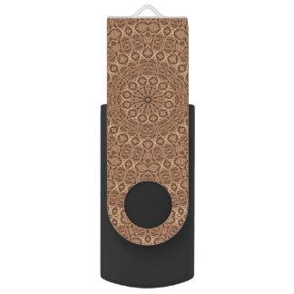 Pen Drive Giratório Movimentação colorida torcida do flash   de USB da