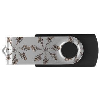 Pen Drive Giratório Movimentação de brilho do flash de USB das