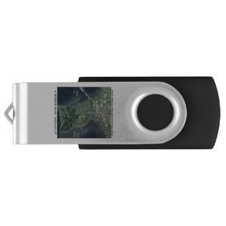 Pen Drive Giratório Movimentação do flash de FOTNPRL USB