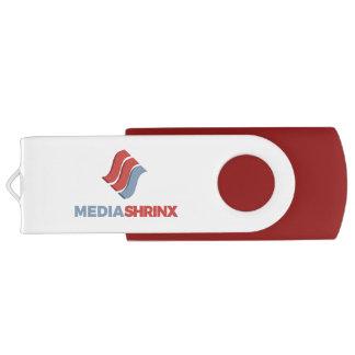 Pen Drive Giratório Movimentação do flash de Mediashrinx USB