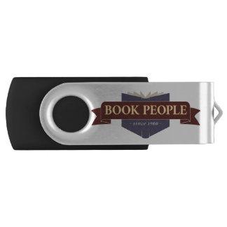 Pen Drive Giratório Movimentação do flash de Peope do livro