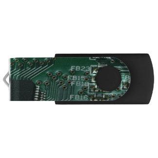 Pen Drive Giratório Movimentação do flash do conselho de circuito