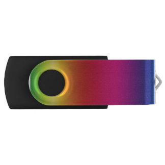 Pen Drive Giratório Movimentação do flash do giro de NeoRainbow USB