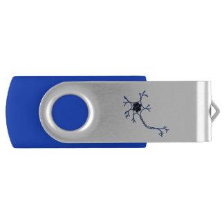 Pen Drive Giratório Movimentação do polegar de NeuroWebVet USB 8 GB
