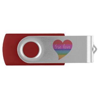 Pen Drive Giratório Movimentação verdadeira do flash de USB dos