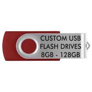 Pen Drive Giratório O costume personalizou a movimentação do flash de