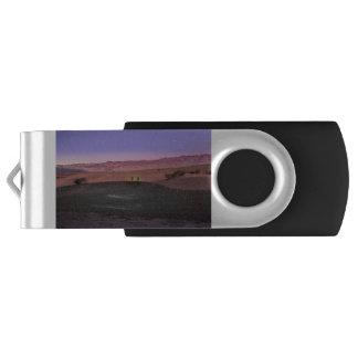 Pen Drive Giratório Parque nacional de Vale da Morte do nascer do sol