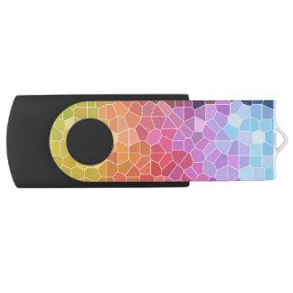 Pen Drive Giratório Partes de cor