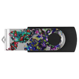 Pen Drive Giratório Pinte a movimentação do flash de USB dos pontos
