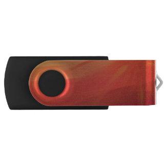 Pen Drive Giratório Por do sol - movimentação do flash do giro de USB