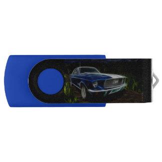 Pen Drive Giratório Relâmpago do carro
