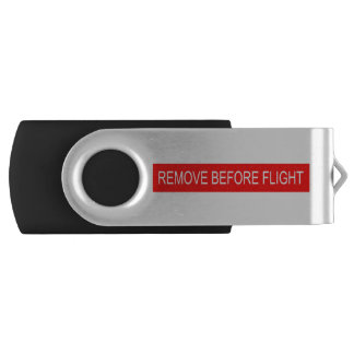 Pen Drive Giratório Remova antes do vôo