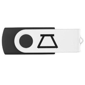 Pen Drive Giratório Usb de 128 GB